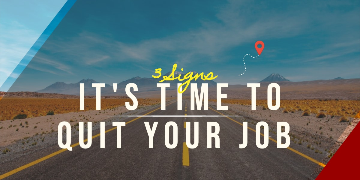 Digitiv Blog It's Time to Quit Your Job