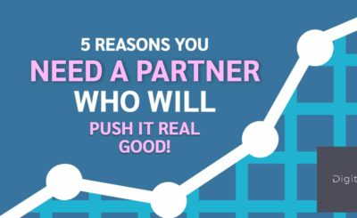 You Need a Partner Who Will Push it Real Good