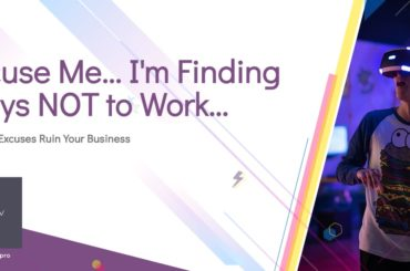 Blog Header on FInding Excuses Not to Work